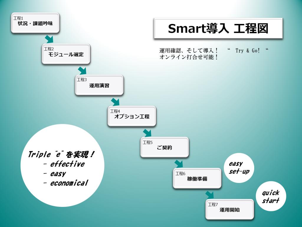 Smart導入工程図